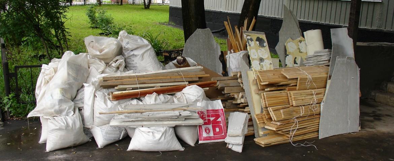 Вывоз строительного мусора после ремонта квартиры