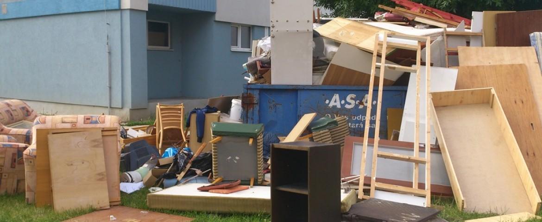 Как вывезти крупногабаритный мусор из квартиры?
