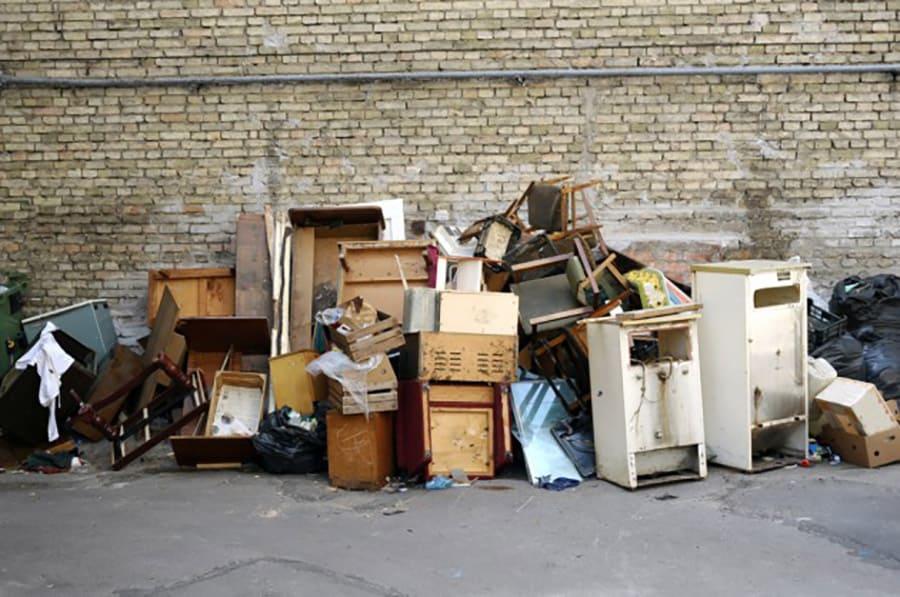 вывоз мусора в спб фото