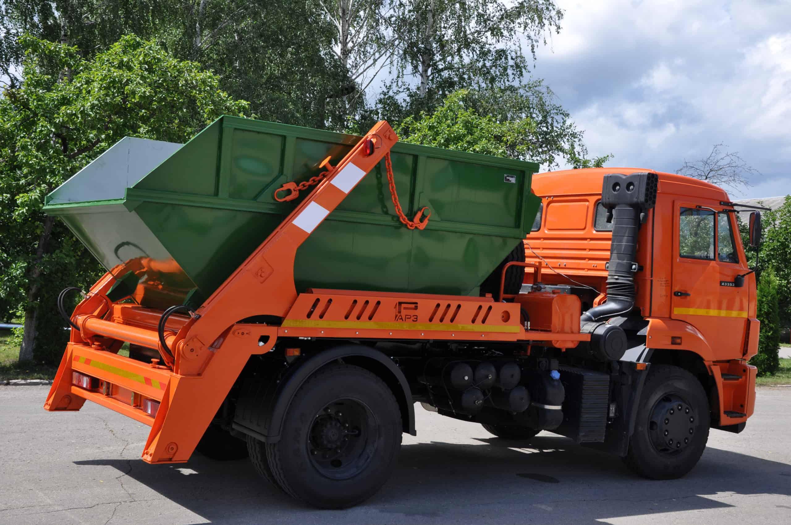 vyivoz musora konteynerom6 scaled - Вывоз мусора контейнером